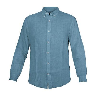 44,99 € per Camicia Uomo Navigare Lino Button Down Taglie S / 7xl Art.91108bd su eBay.it