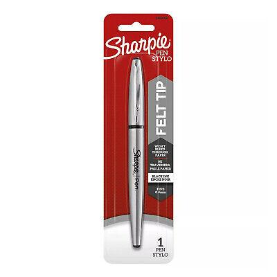 Sharpie Stainless Steel Pen Fine Tip 0.4mm Black Ink