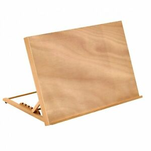 NEW! A2 Wooden Art Drawing Board Table Canvas Workstation Sketch Easel
