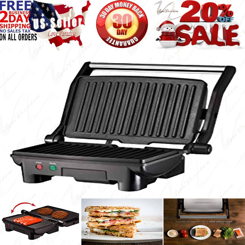 Chefman Electric Panini Press Grill and Gourmet Sandwich Mak