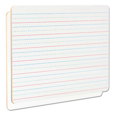 Universal Laplearning Dry-erase Board Lined 11 34 X 8 34 White 6pack 43911