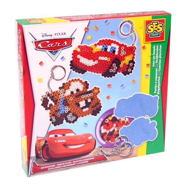 SES 14735 midi Bügelperlen Set Disney CARS Anhänger Kleine Geschenkpackung