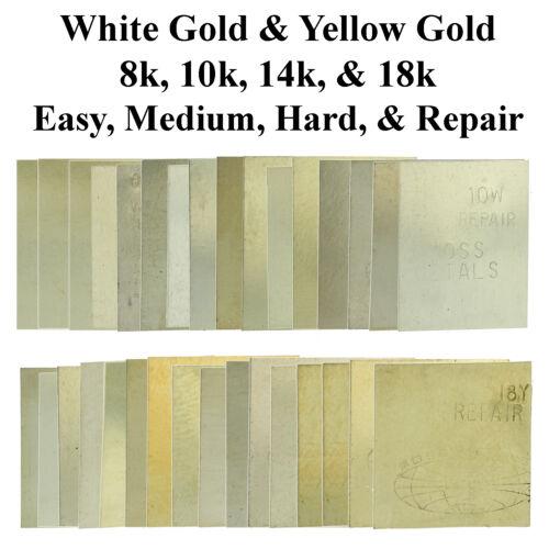 One Gram White & Yellow Gold Solder 8k 10k 14k 18k Jewelry Repair Easy Medium