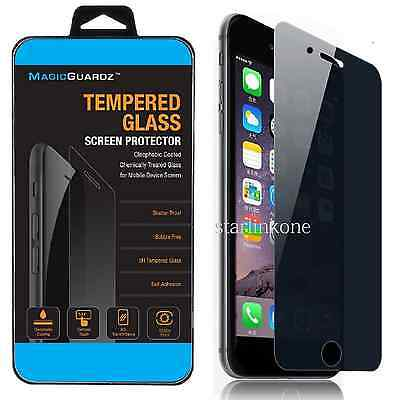 """Privacy Anti-Spy REAL Tempered Glass Screen Protector for 5.5"""" iPhone 6 Plus"""