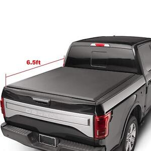 For 2002-2018 Dodge Ram 1500/2500/3500 6.5ft Bed Hard Tri-Fold Tonneau Cover