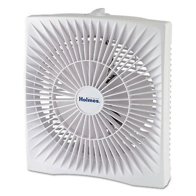 Personal Space Box Fan  Two Speed  White