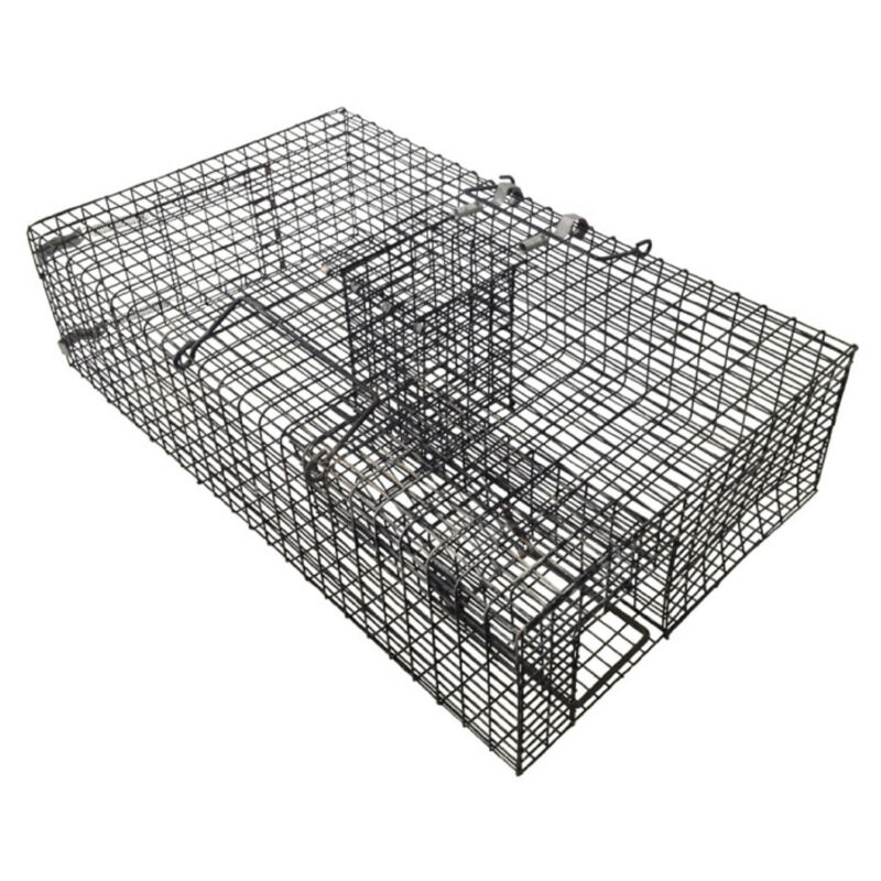 Rugged Ranch RATTR Ratinator Live Rat Squirrel Metal 2 Door Trap Cage(For Parts)