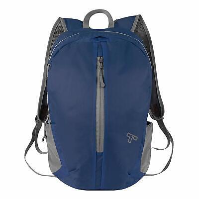 Travelon Packable Backpack - Navy Blue - Navy Backpacks