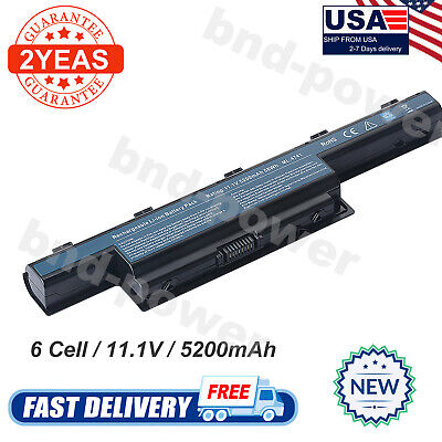 New Battery for Acer AS10D31 AS10D51 Gateway 4741 AS10D71 AS10D75 Laptop Power