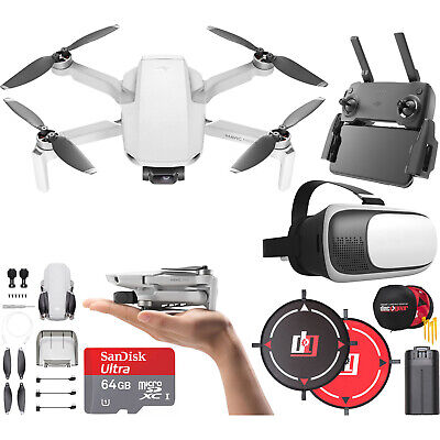 DJI Mavic Mini Drone Quadcopter CP.MA.00000120.01 with Remote & Headset Bundle