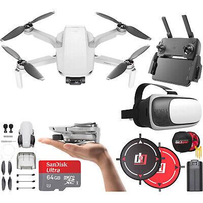 DJI Mavic Mini Drone Quadcopter CP.MA.00000120.01 with Remote & Headset Bundle