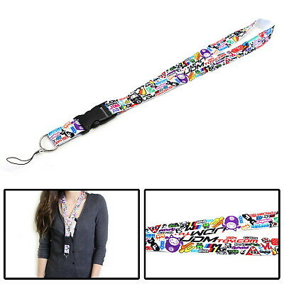 iJDMTOY Graffiti JDM Lanyard For Key/Phone w/ Fresh As Fck Domo Shocker, etc