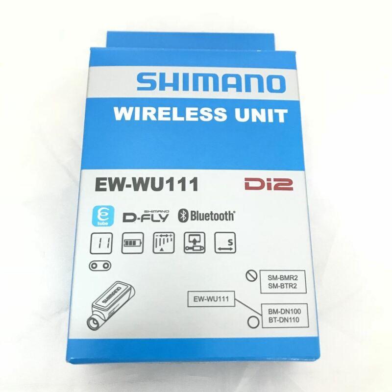 Shimano Di2 EW-WU111 Wireless Transmitter Unit E-Tube Port x2 New Retail Package