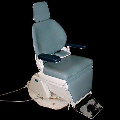 Midmark Legacy Ii Dental Patient Chair Wmagnetic Headrest Foot Controller