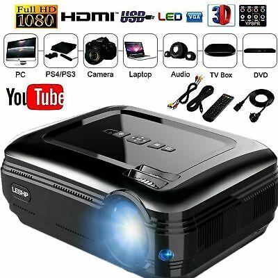 WiFi 4K 3D Full HD 1080P LED Projector Mini Home Cinema Bluetooth so