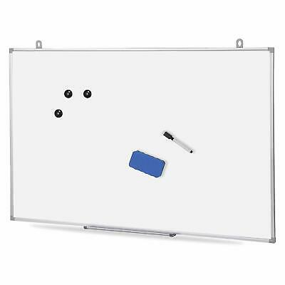 Magnetic Whiteboard 36 X 24 Inch Dry Erase White Board Wall Hanging Board