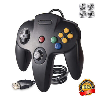 iNNEXT Classic Retro N64 Joystick USB Wired Controller Gamepad For PC And MAC (Classic Joystick For Pc)