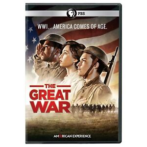 American Experience: The Great War DVD New DVD! Ships Fast!