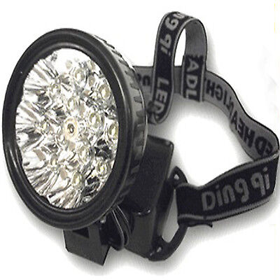 Stirnlampe Kopflampe 12 LED Headlamp Stirnleuchte Headight Campinglampe Sport