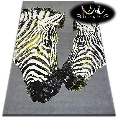 ORIGINAL ANIMAL THEME CARPETS 'FLASH' Zebra Print Area CHEAP Rugs