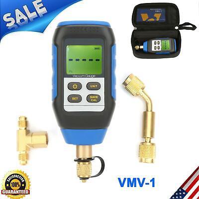 Vmv-1 Hd Digital Micron Vacuum Gauge 72psi Measuring Tester For Atmosphere New