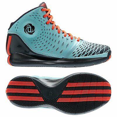 adidas Derrick D Rose 3.5 Zest Blue Pop Art Dark Onix G66477  Basketball Shoes