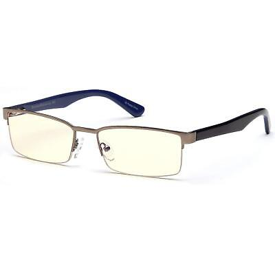 Gamma Optics Intercept Advanced Glasses Full Rim Computer Video Gaming Glasses