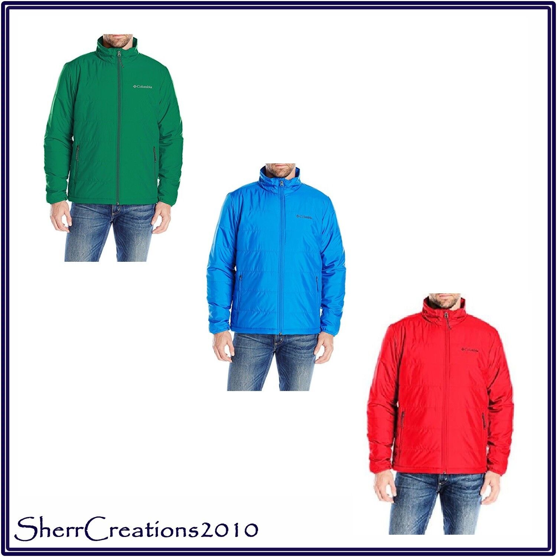 38e68e69ca90 NWT Columbia Men s Saddle Chutes Jacket Winter Fall Thermal Reflective  Lining фото