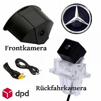 Rückfahrkamera + Frontkamera für Mercedes-Benz E / C-Klasse W204 W212 W207 C207