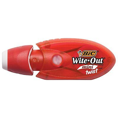 Bic Wite-out Brand Mini Twist Correction Tape White 1-count