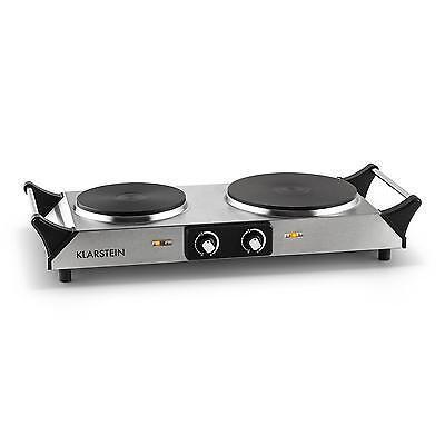 NEW HOT PLATE HOB DOUBLE RING KITCHEN CAMPING RV CARAVAN  * FREE P&P UK OFFER
