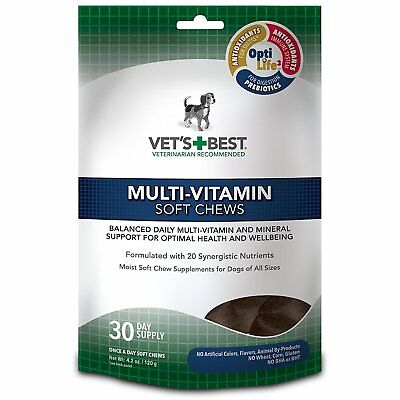 Vet's Best Multi-Vitamin Soft Chew Supplement for dogs 4.2