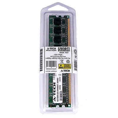 1GB DIMM HP Compaq Pavilion m8000y m8010y m8013cn m8013w m8020cn Ram Memory