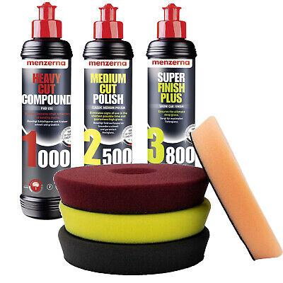 Menzerna 1000 2500 3800 Liquid Elements Centriforce PoliturSet SETMENZ12