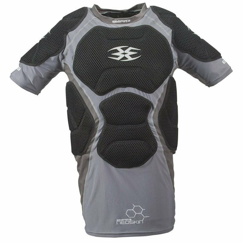 Empire Paintball Neoskin Chest Protector F6 - Black Silver - Large / X-Large