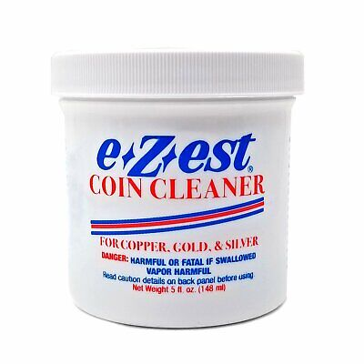 E Z est Ezest Easy Coin Jewelry Cleaner 5 oz for Gold Silver