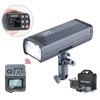 Neewer 200Ws 2.4G TTL Flash Strobe 1/8000 HSS Cordless Monolight with Trigger
