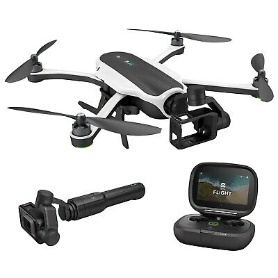 GoPro Karma Drone + Gimbal Karma Grip Batteries Blades for HERO5 Camera