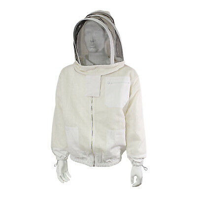 Rural365 Ventilated Beekeeping Jacket And Veil - 2xl Ventilated Bee Jacket