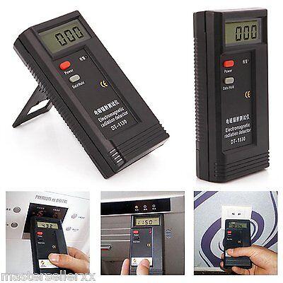 Digital Electromagnetic Radiation Detector EMF Meter Test Ghost Hunt Equipment