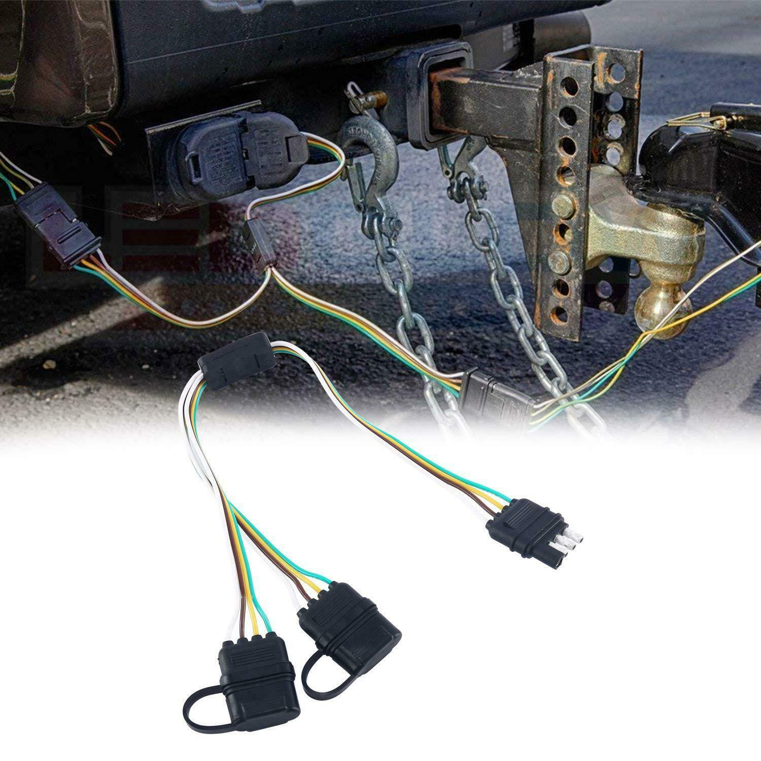 Diagram 1ft Trailer Light Wiring Harness Extension 4
