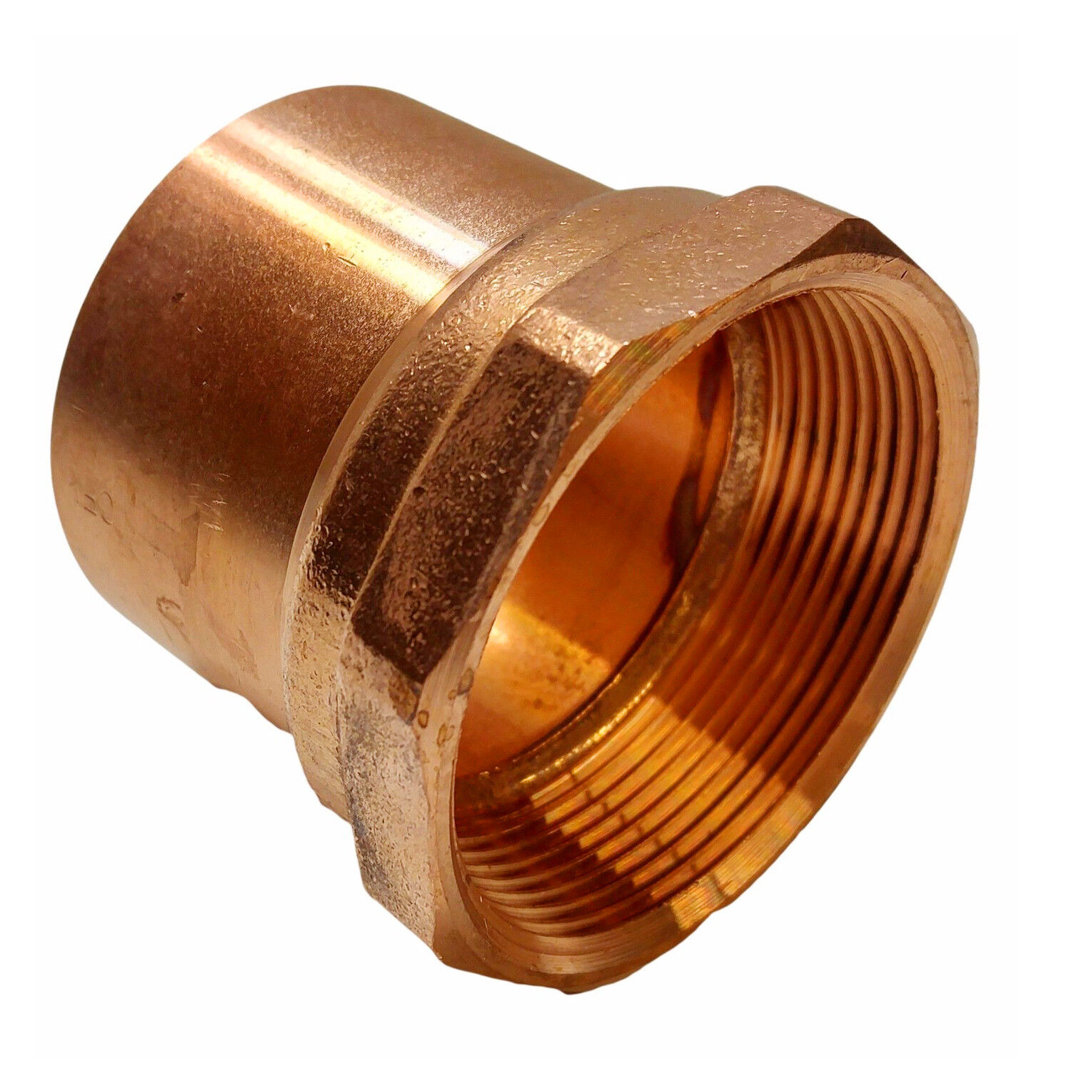 """1//2/"""" Copper Female Adapter Sweat Solder Joint C x FIP Bag of 25"""