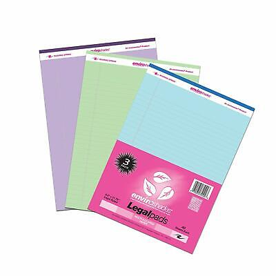 Legal Pad Standard Assorted 3 Pack