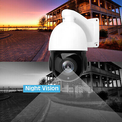Built-in Poe Ip Camera 5mp Hd 2592x1944 Pantilt 30x Zoom Speed Dome Cameras