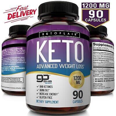 Best Keto Diet Pills GoBHB 1200mg, 90 Capsules Advanced Weight Loss Ketosis