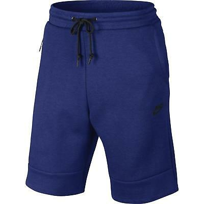 Nike Fashion Shorts (Men's Nike Sports Wear Tech Fleece Sweat Short Royal Fashion Casual 628984 455)