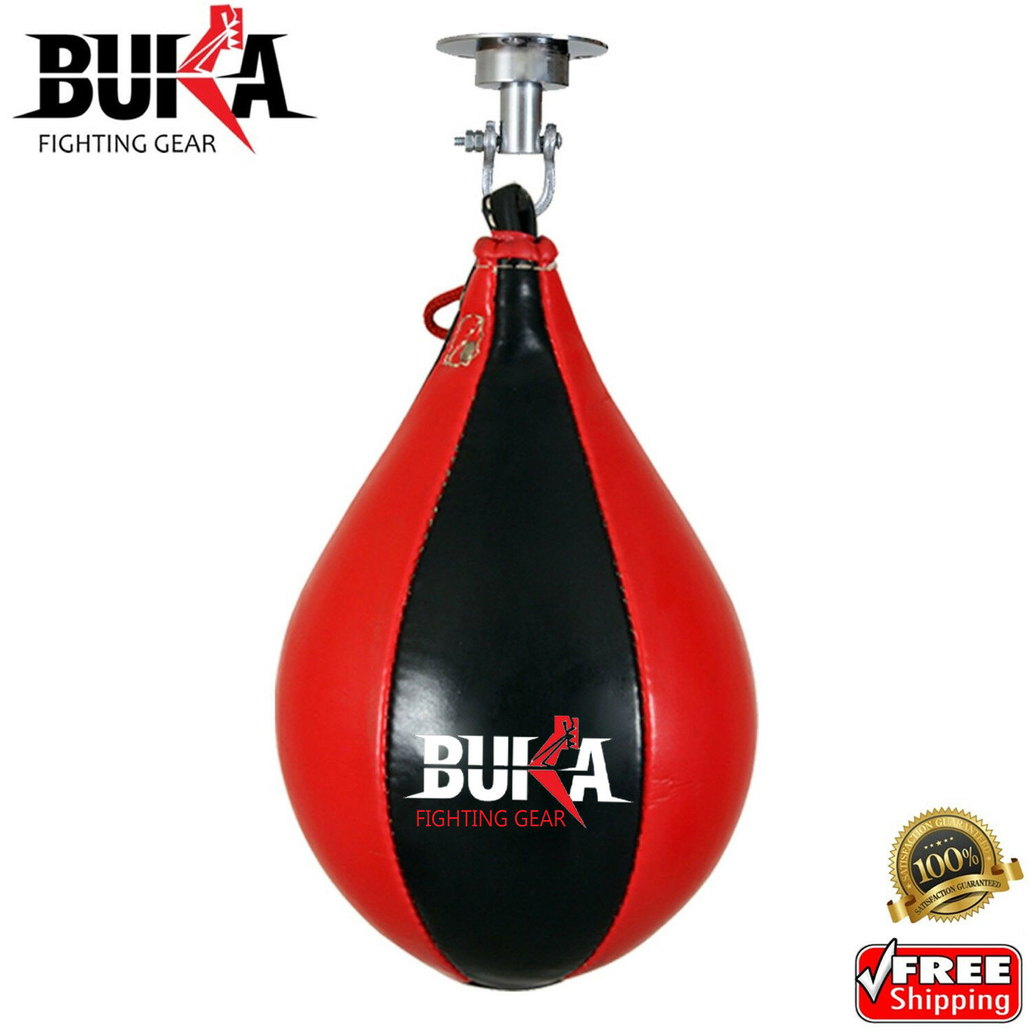 Leather Speed Ball /& Swivel Boxing Punch Bag MMA Punching Training Pear