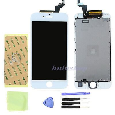 """USA White LCD Screen Display + Touch Screen Digitizer + Frame For iphone 6S 4.7"""""""