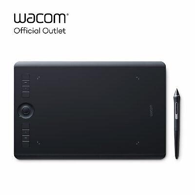 Used Wacom Intuos Pro Medium Digital Graphic Drawing Tablet, SHPTH660