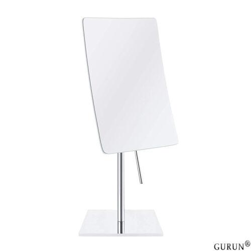 GURUN Rectangle Tabletop Standing Vanity Makeup Mirror 3X Ma